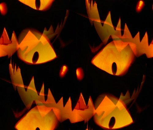 Фоны Хэллоуинские