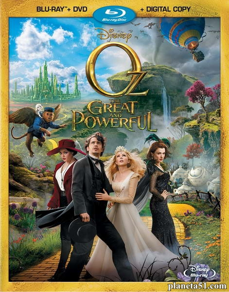 Оз: Великий и Ужасный / Oz the Great and Powerful (2013/BDRip/HDRip)