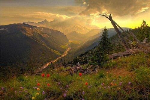 Красота, сотворённая природой, человеком, временем...