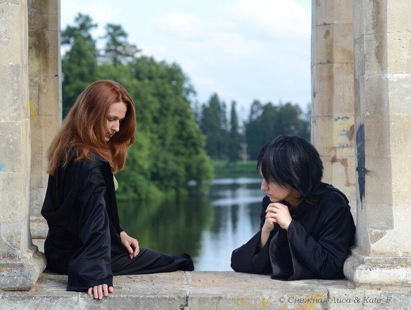Северус Снейп и Лили Эванс