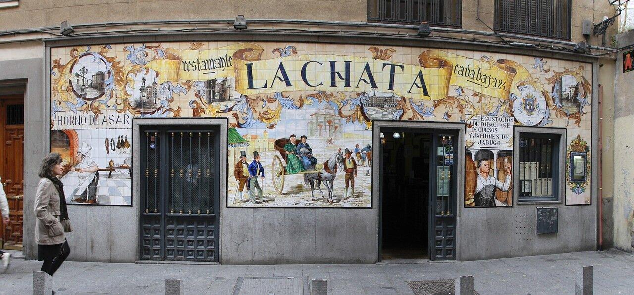 Мадрид. Ресторан La Charta