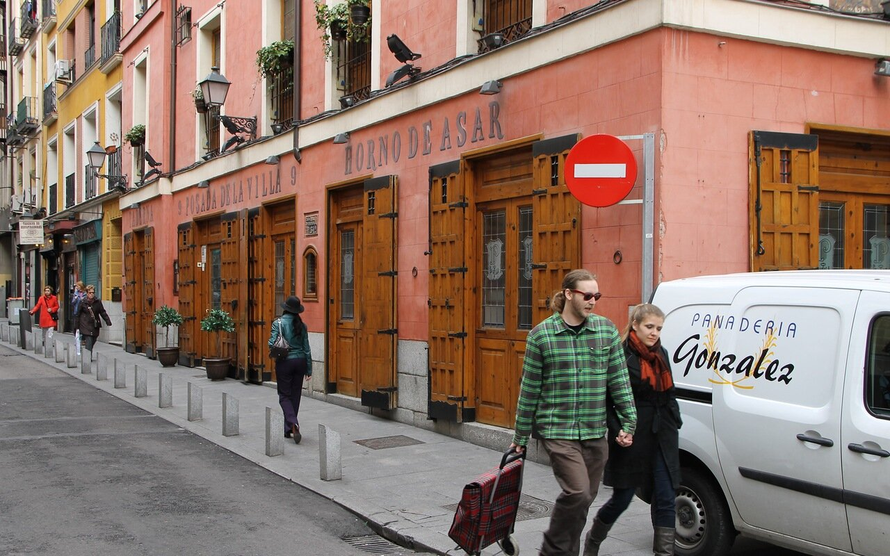 Мадрид. Ресторан Horno De Asar