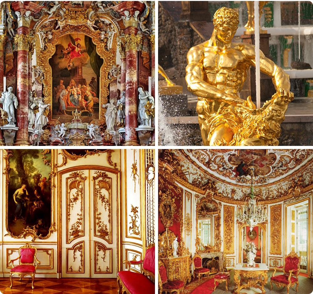 Пышный ипомпезный стиль барокко полностью оправдывает свое название (отитальянского barocco— «при