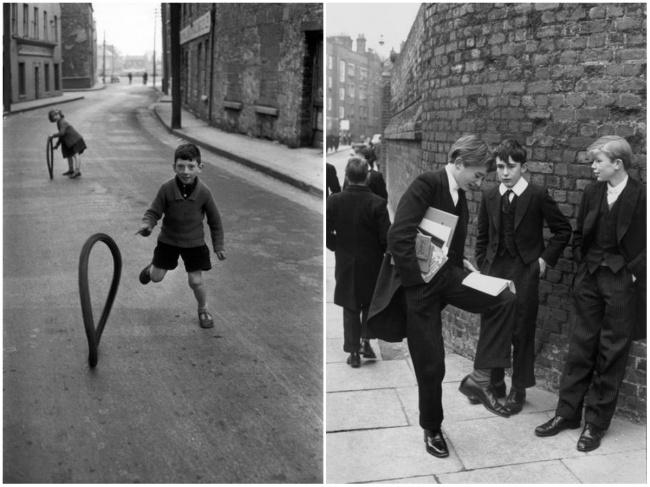 Дублин, 1952 (слева). Беркшир, 1962 (справа). Анри Картье-Брессон был уверен, что знакомство сновым