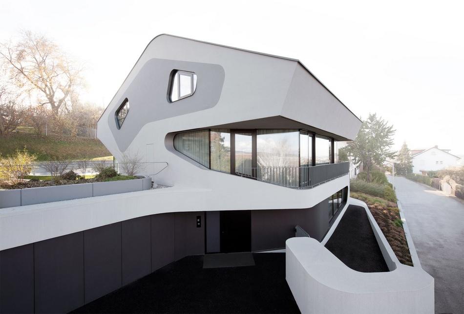 Дом из будущего в Штутгарте, Германия