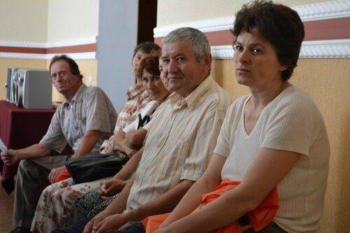 Жители Чок-Майдана пригласили на встречу Владимира Воронина
