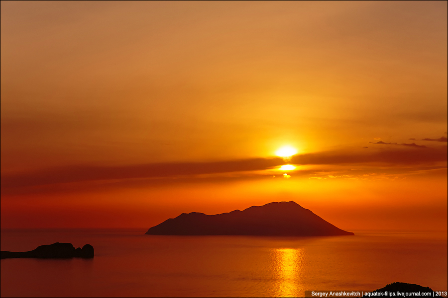 Греческий закат