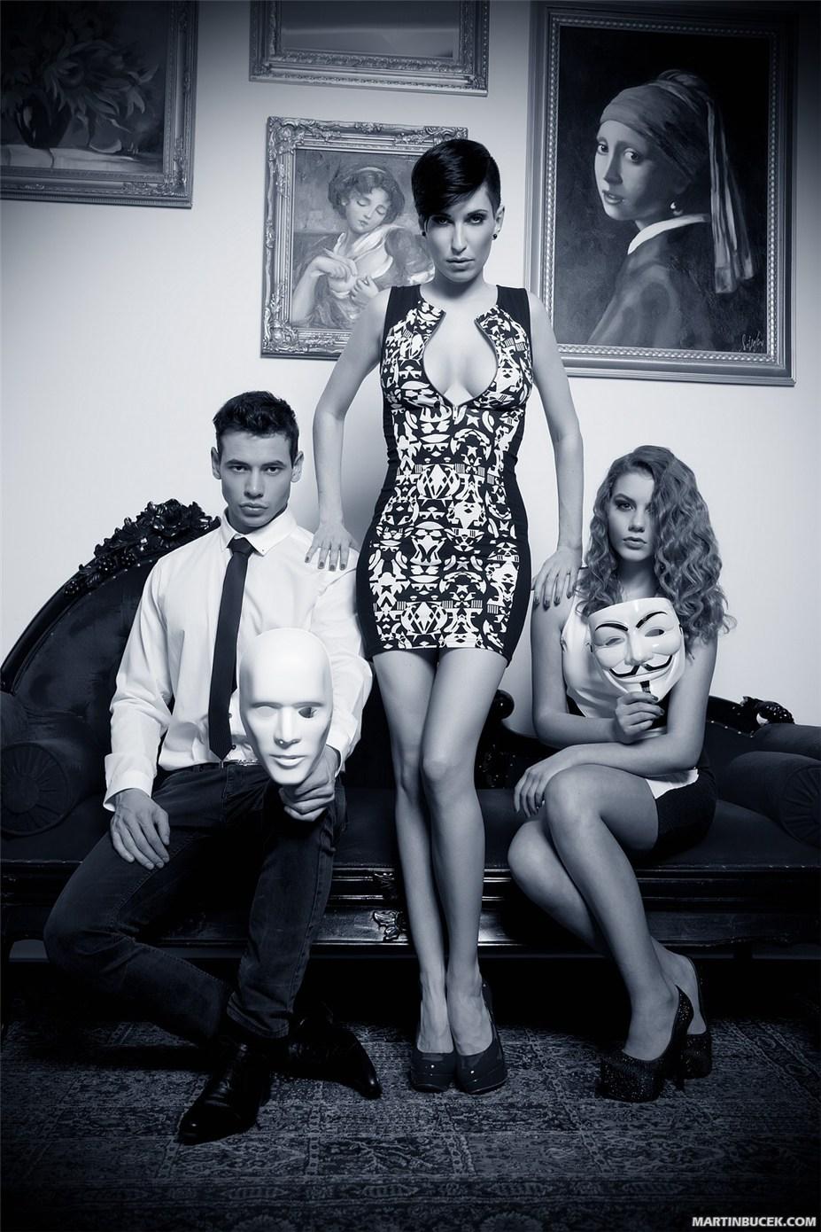 Эротическая промо-кампания AnonymouS Bar Prague by Martin Bucek