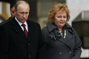 Spouses Putin announced the divorce