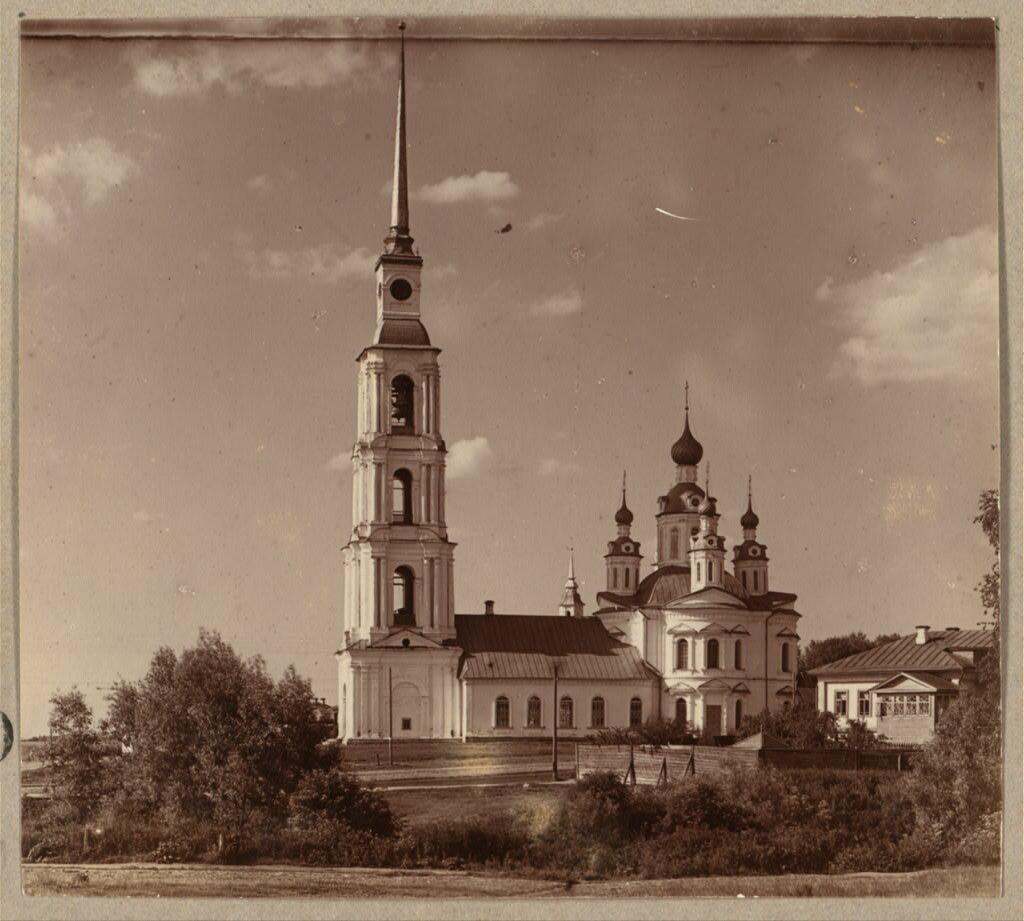 Церковь апостола Филиппа (с другой стороны). Углич. 1910.