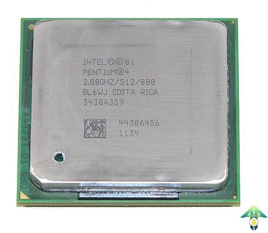 S-478 Pentium 4 2800MHz