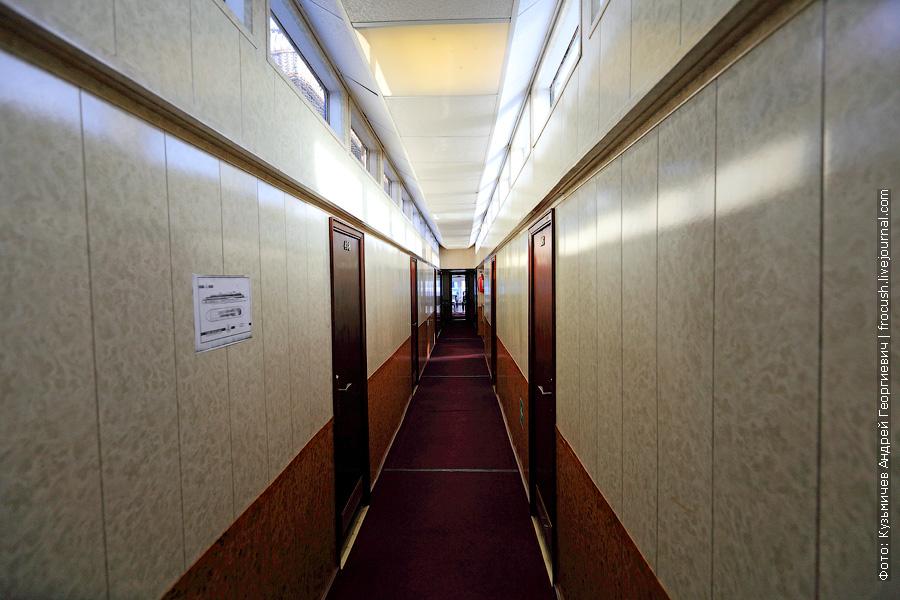 фотографии коридор шлюпочной палубы теплоход президент