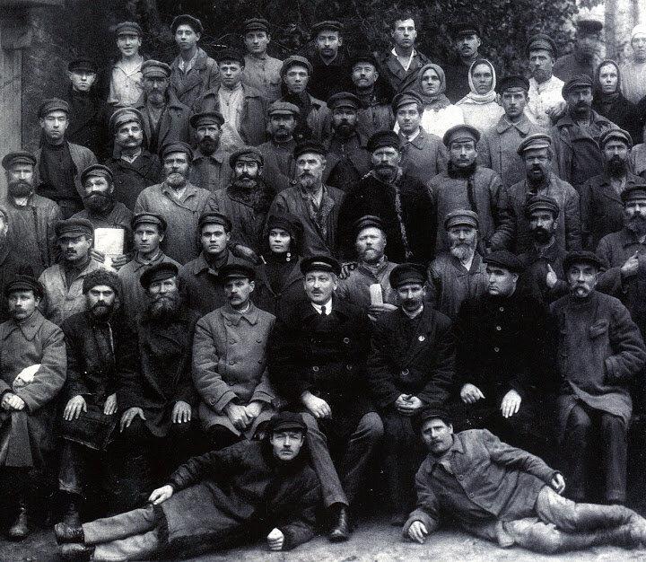 Employees of the Stepan Razin Brewery, Leningrad, 1924.