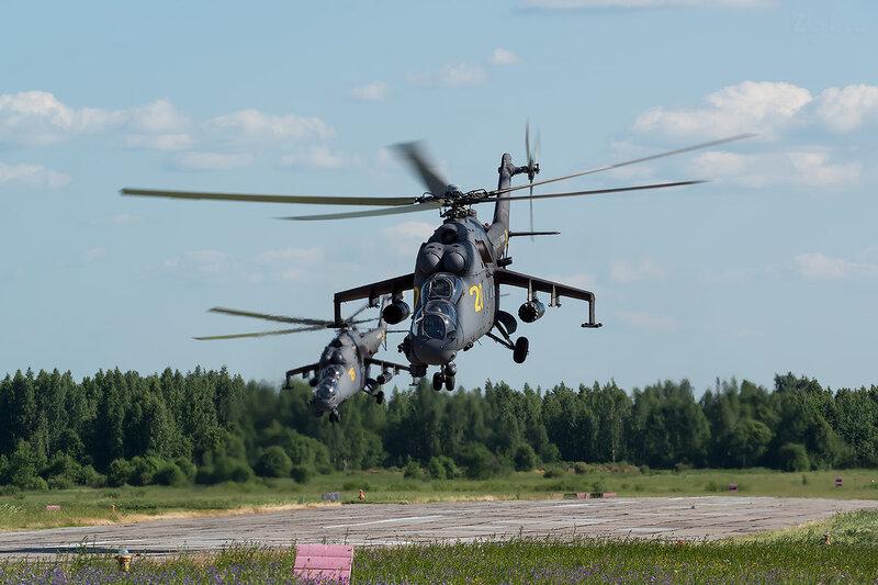 Миль Ми-24П (RF-93546 / 20 жёлтый) D801000