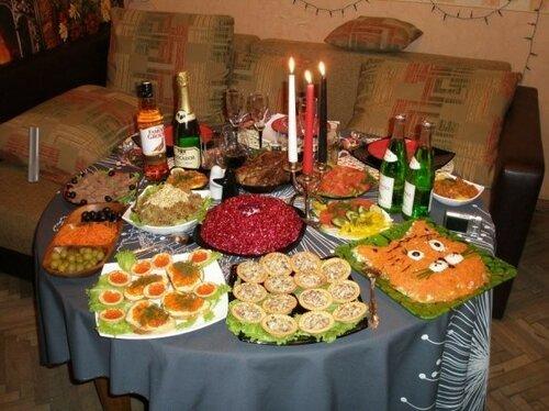 Новогодний стол россиян с прошлого года подорожал на 12%