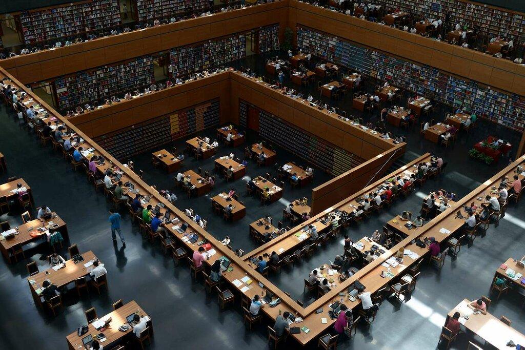 Пекинская национальная библиотека, Китай