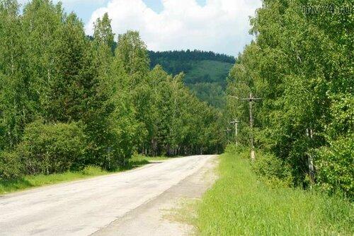 Дорога кВишнёвогорску