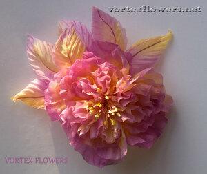 Фотографируем цветы из ткани.