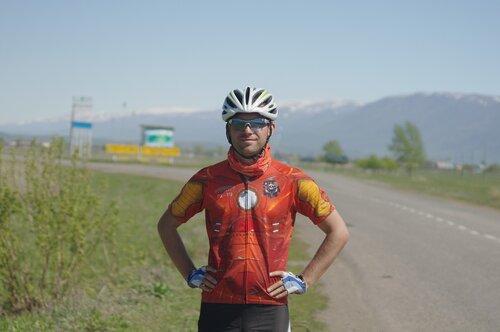 На велосипеде В Казахстан