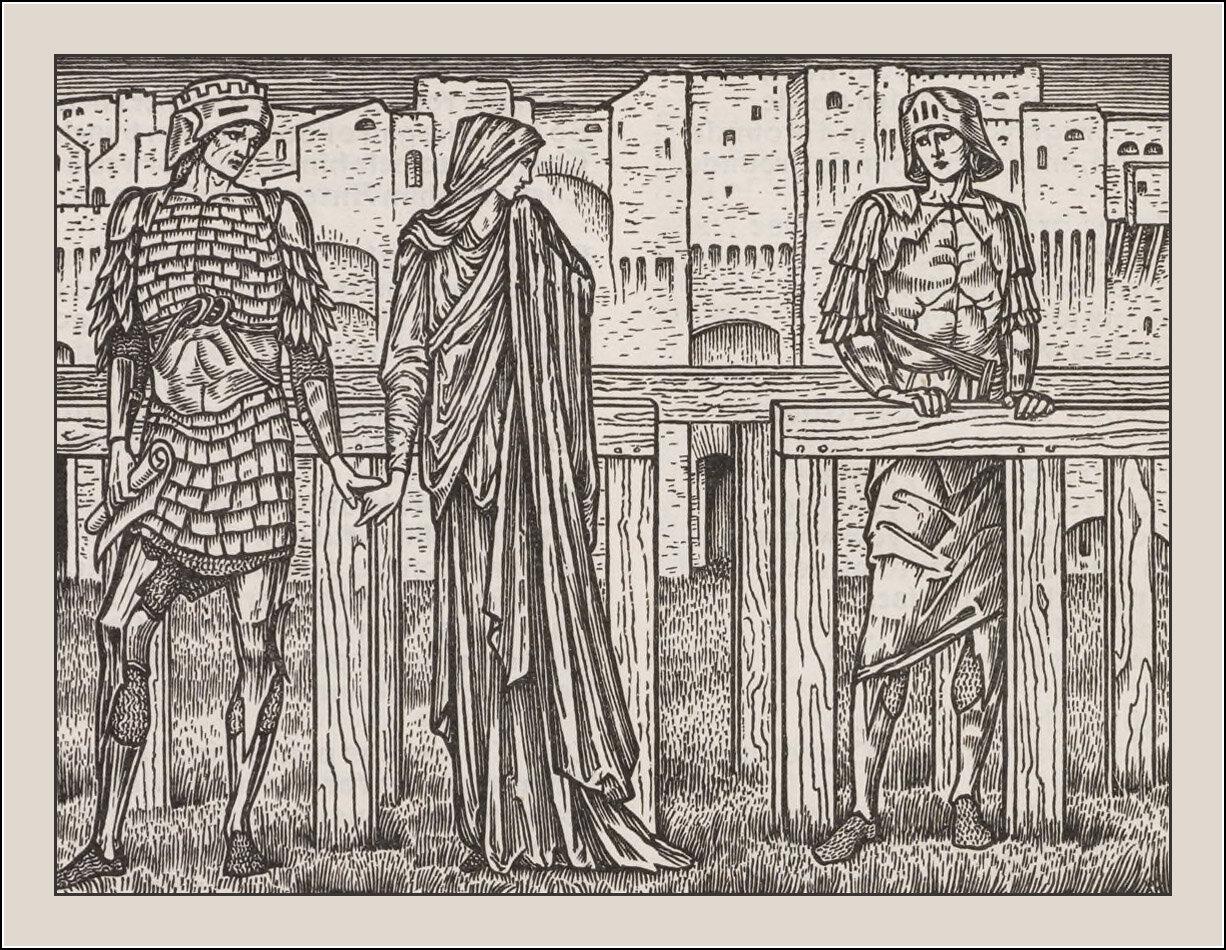 Edward Coley Burne-Jones, The works of Geoffrey Chaucer