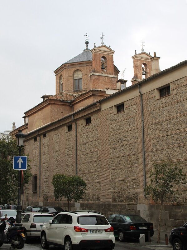 Madrid. Monastery of the Incarnation (Convento de la Encarnacion)