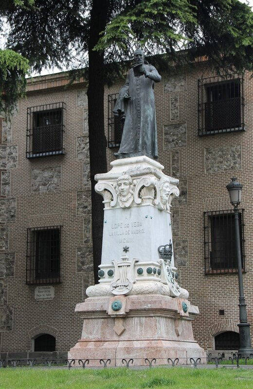 Madrid. Monument to Lope de VEGA