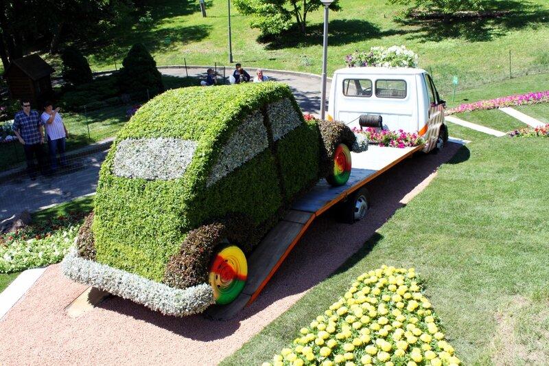 Начало Выставки Зеленых Авто