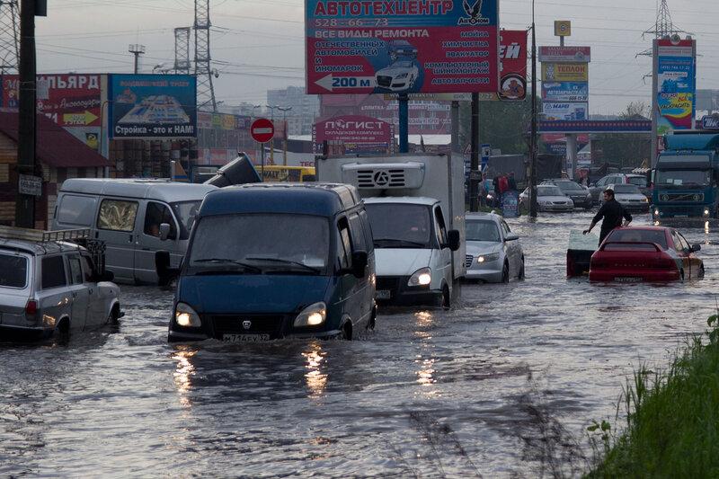 Потоп на Горьковке