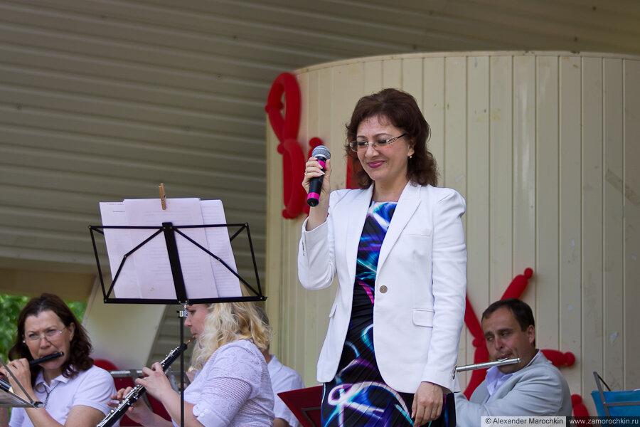 Концерт духового оркестра в парке имени А.С.Пушкина