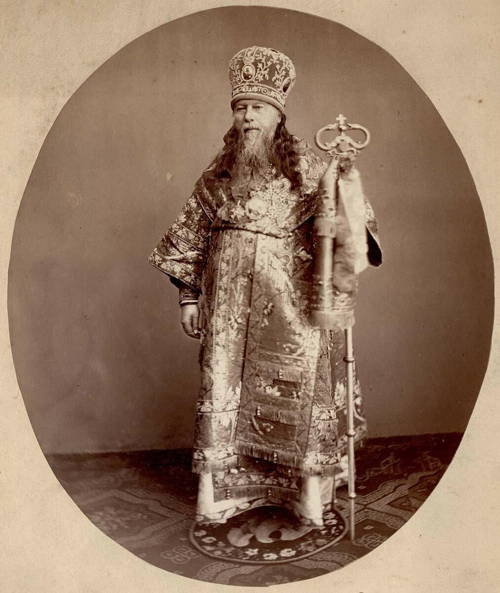 Никодим — епископ Енисейский и Красноярский Г. Красноярск. К.1860-х-нач. 1870-х гг.