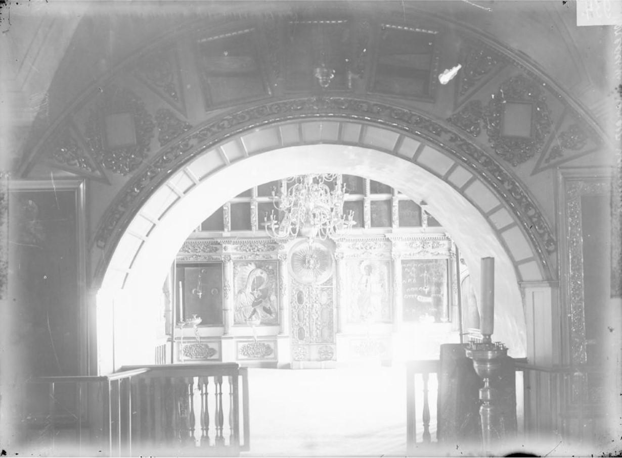 Печерский монастырь. Успенская церковь. Внутренний вид