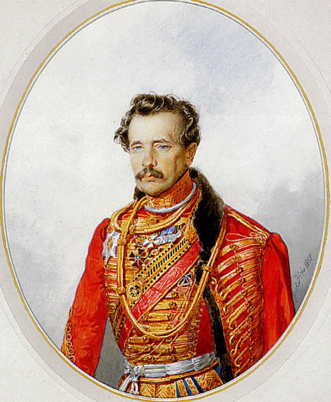 Портрет генерала М.Г.Хомутова.