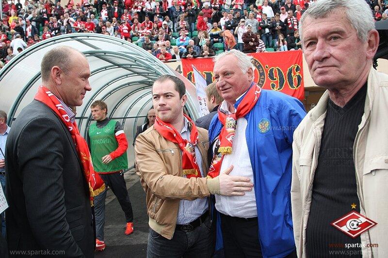 """Чествование Юрия Гаврилова. """"Спартак"""" - """"Алания"""" 2:0"""