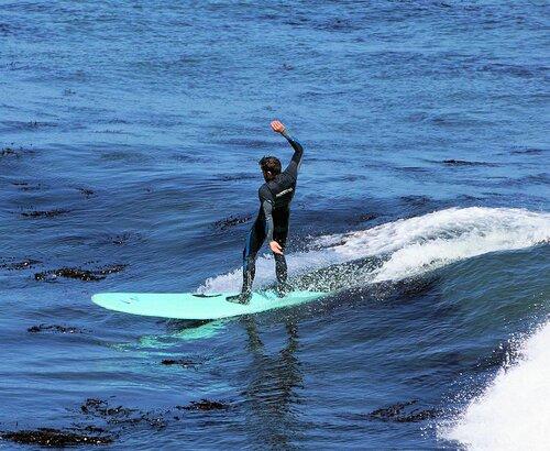 За секунду до падения (Серфинг в Санта Крузе 3.2)