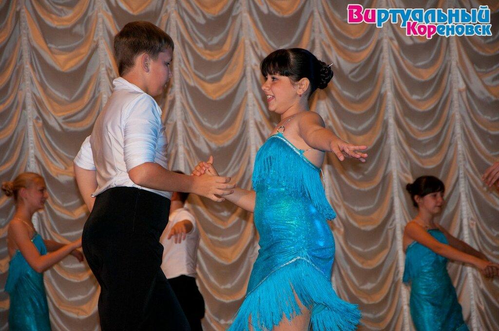 Творческий отчёт ансамбля бального танца