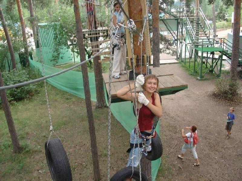 Экстрим центр находится в парке им. Гагарина (25.06.2013)