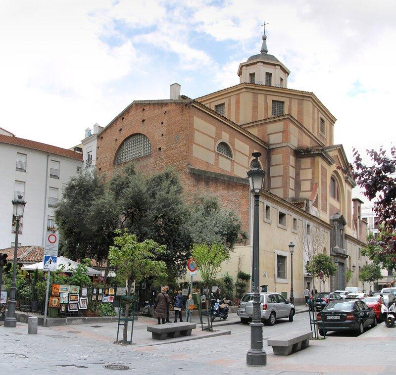 Мадрид. Церковь Сан-Себастьян (Parroquia de San Sebastián)