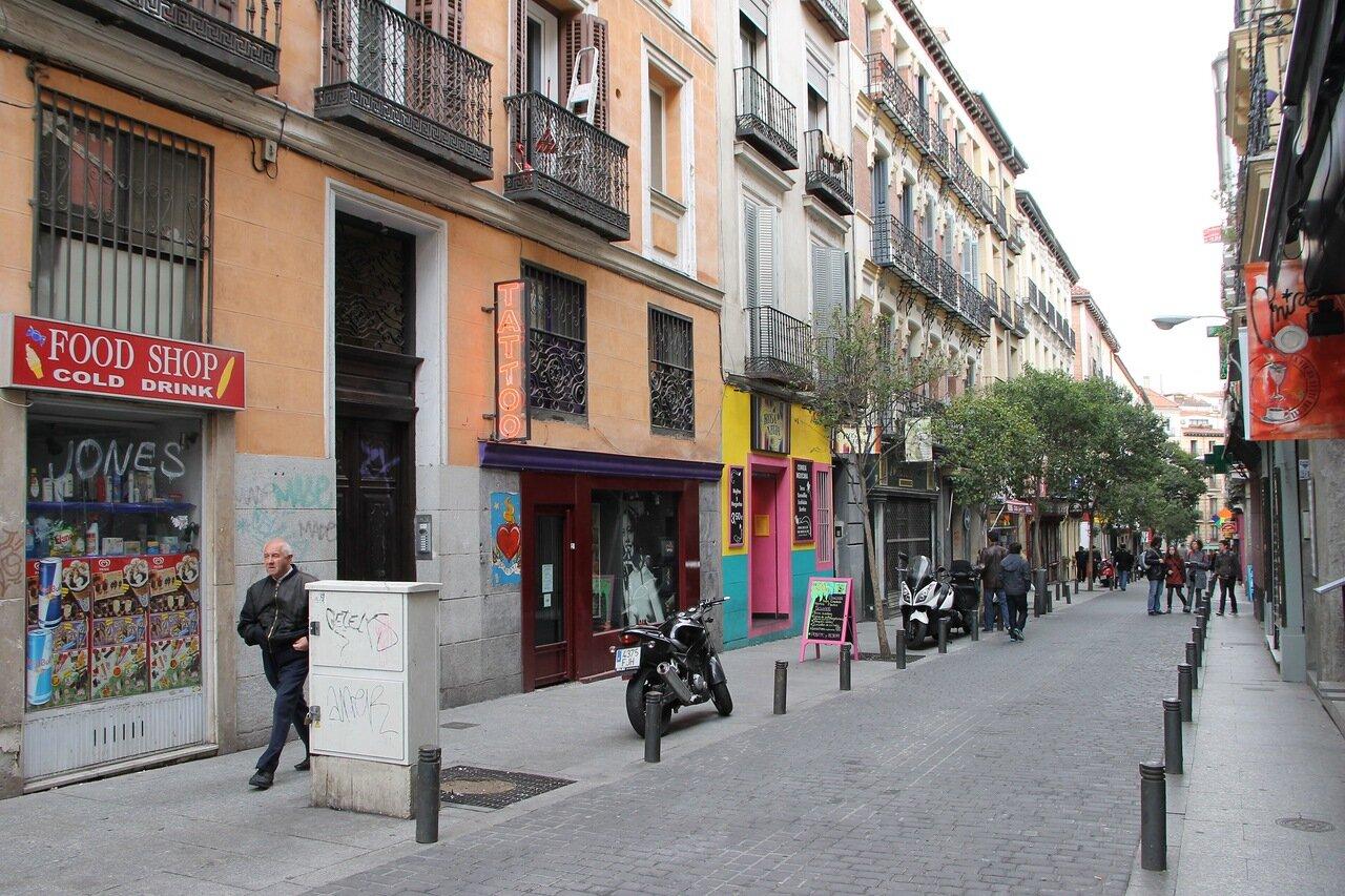 Madrid. Leon street (Calle del León)