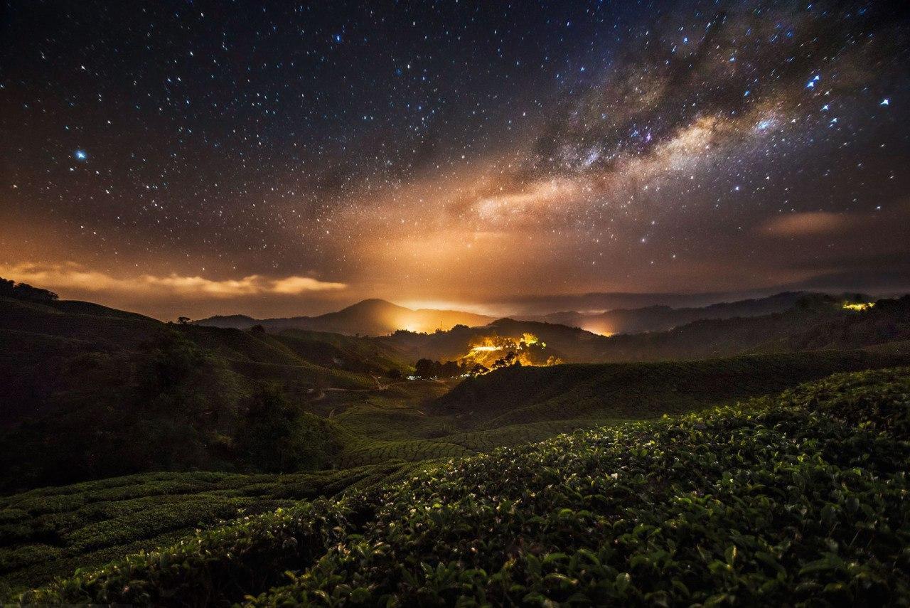Великолепные ночные пейзажи. Фотограф Grey Chow (8 фото)