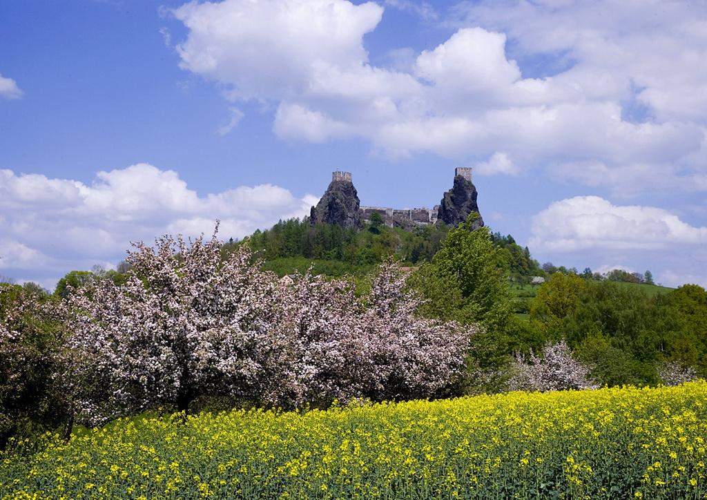 Год появления: 14 век. В окрестностях Праги расположена удивительная и полная тайн крепость Троски,