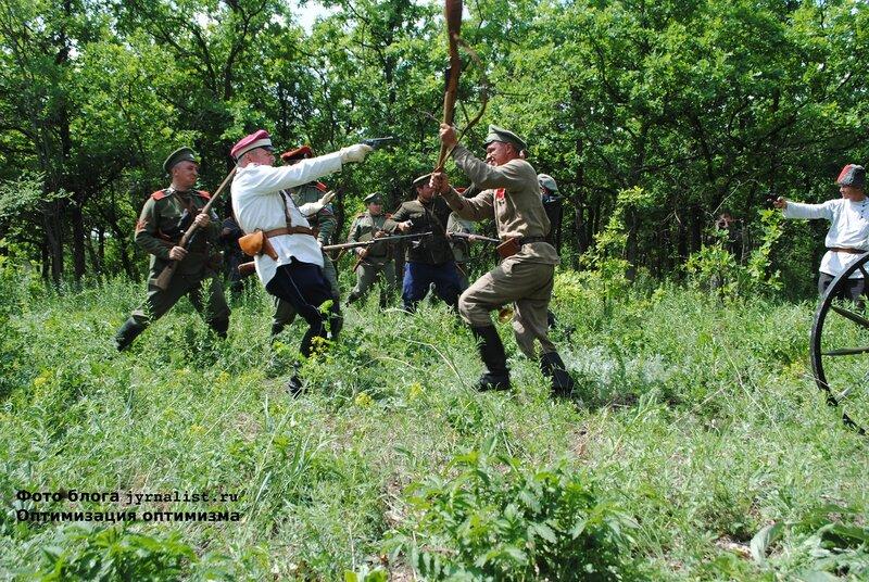 Реконструкция битвы за луганск 1919 года