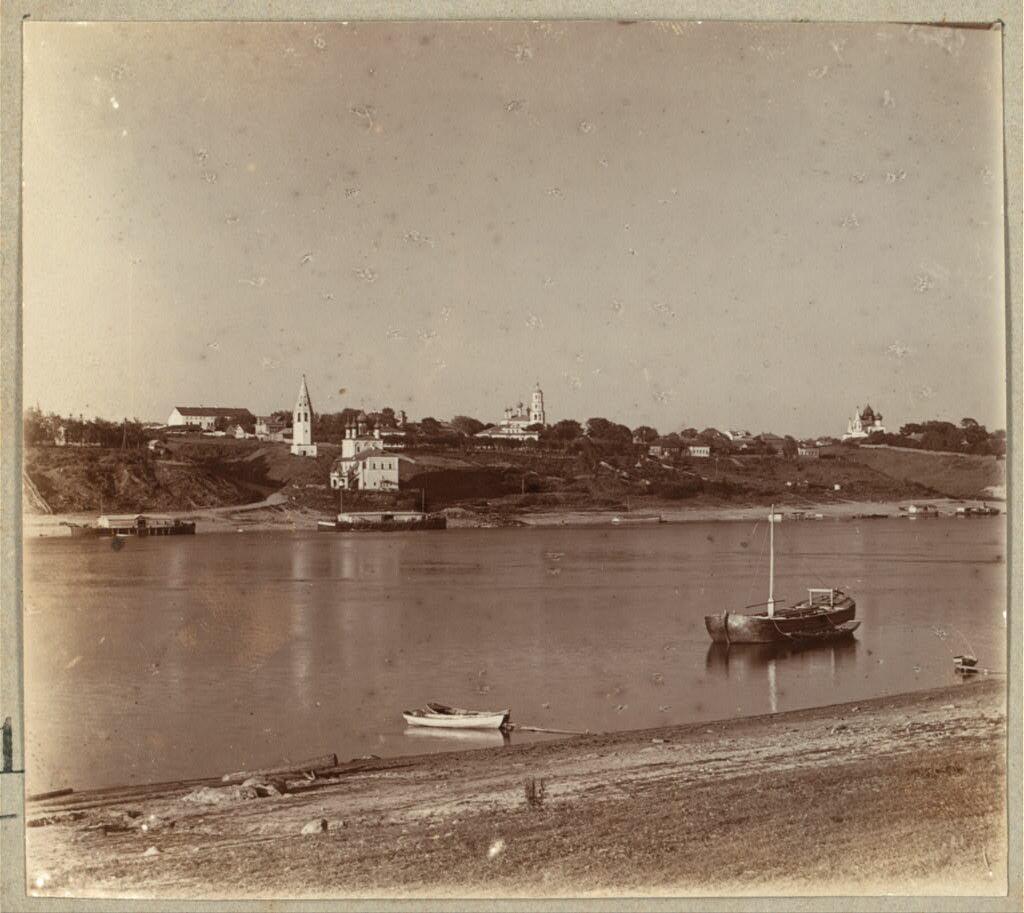 Город Романов. Общий вид. 1910