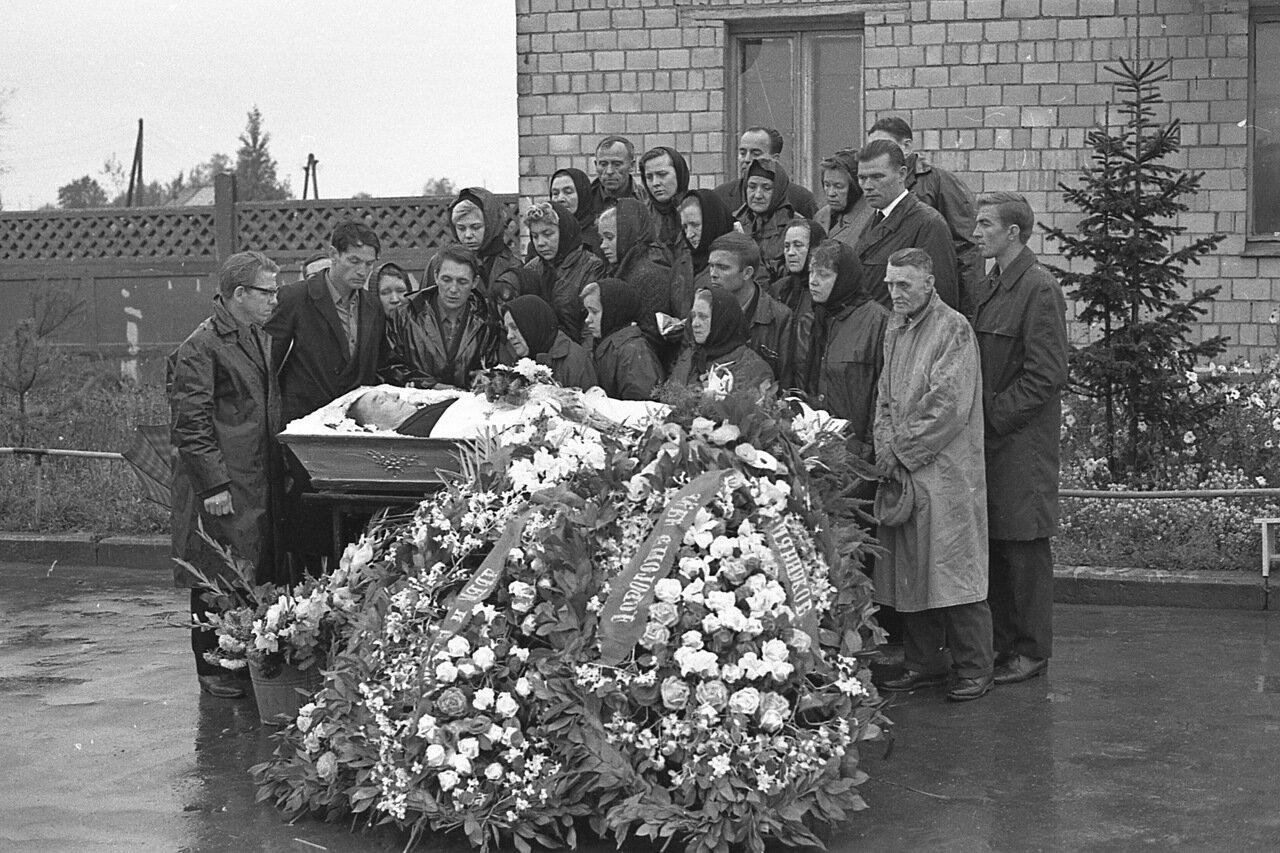 Москва, похороны 70-х.