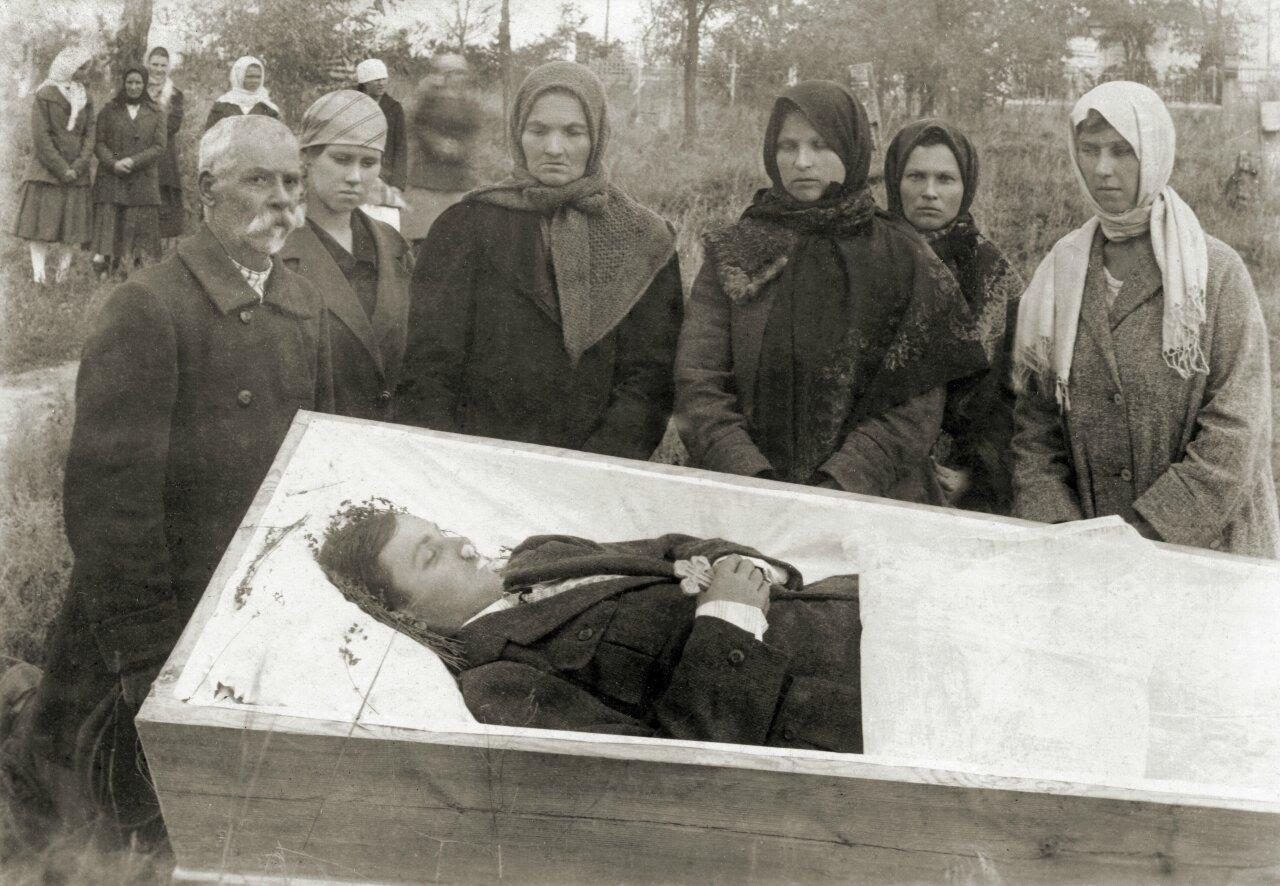 Похороны Набокова Алексея Никитич, умершего от скарлатины