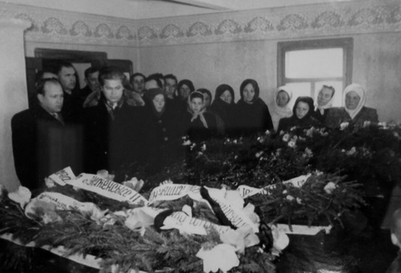 Похороны жертв УПА 1957.