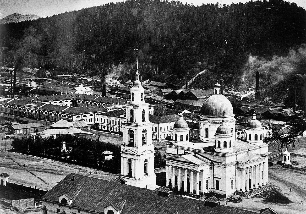 1900-e. Вид с Бутыловки
