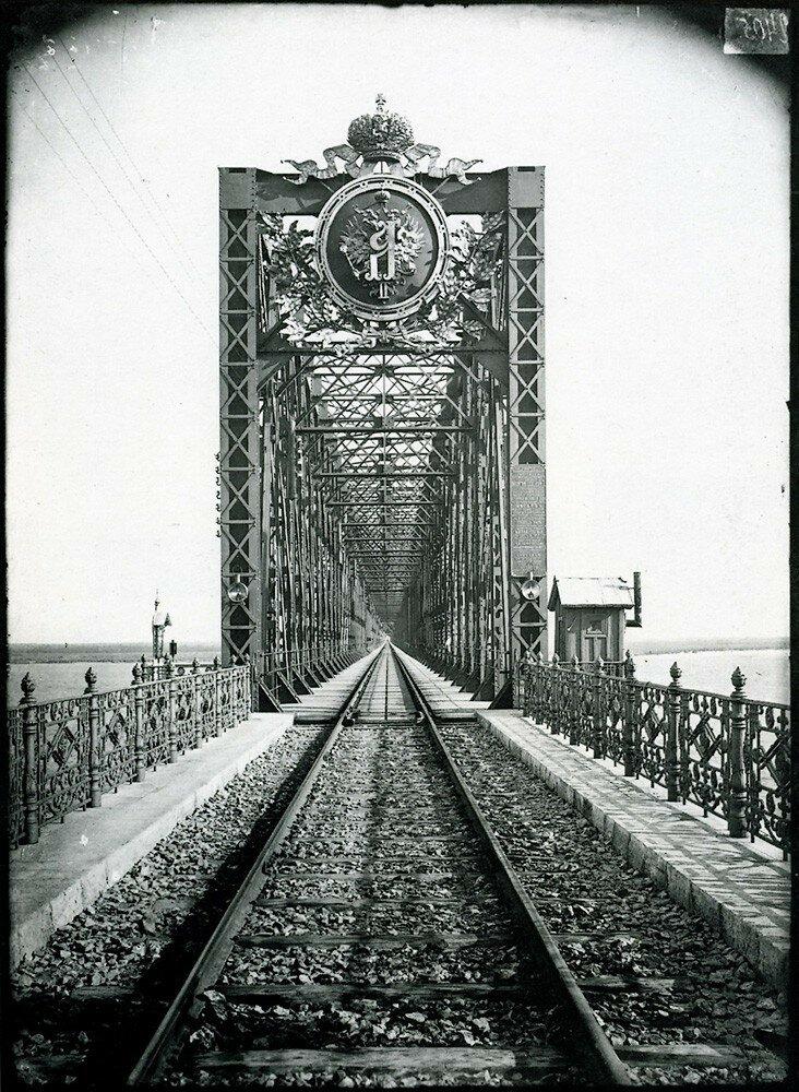 Александровский мост в Сызрани