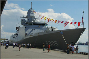 Hr.Ms. Evertsen. Международный военно-морской салон. Санкт-Петербург 2013.