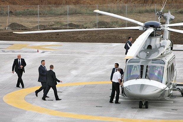 Вертолеты для первых лиц  (10 фото)