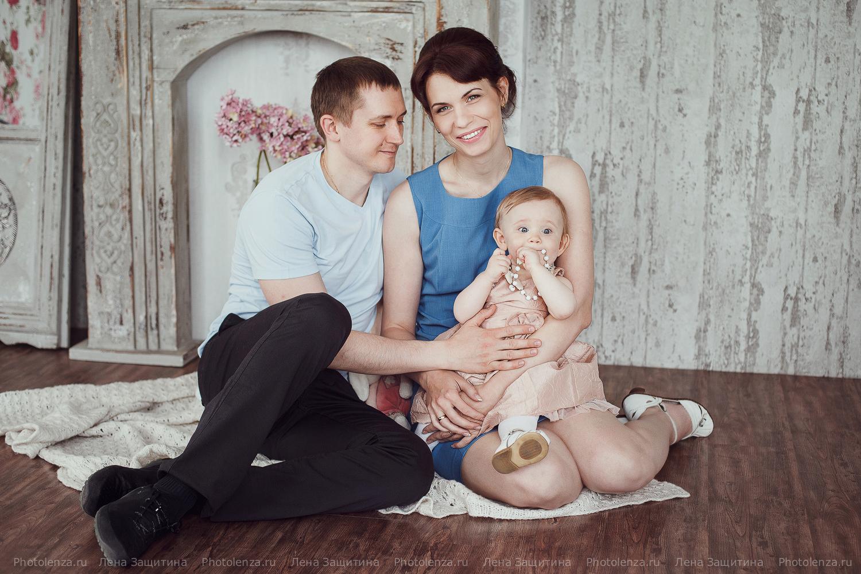 Идеи для семейных фото с маленьким ребенком